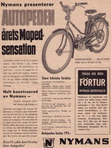 Autoped Modell 53 Reklam